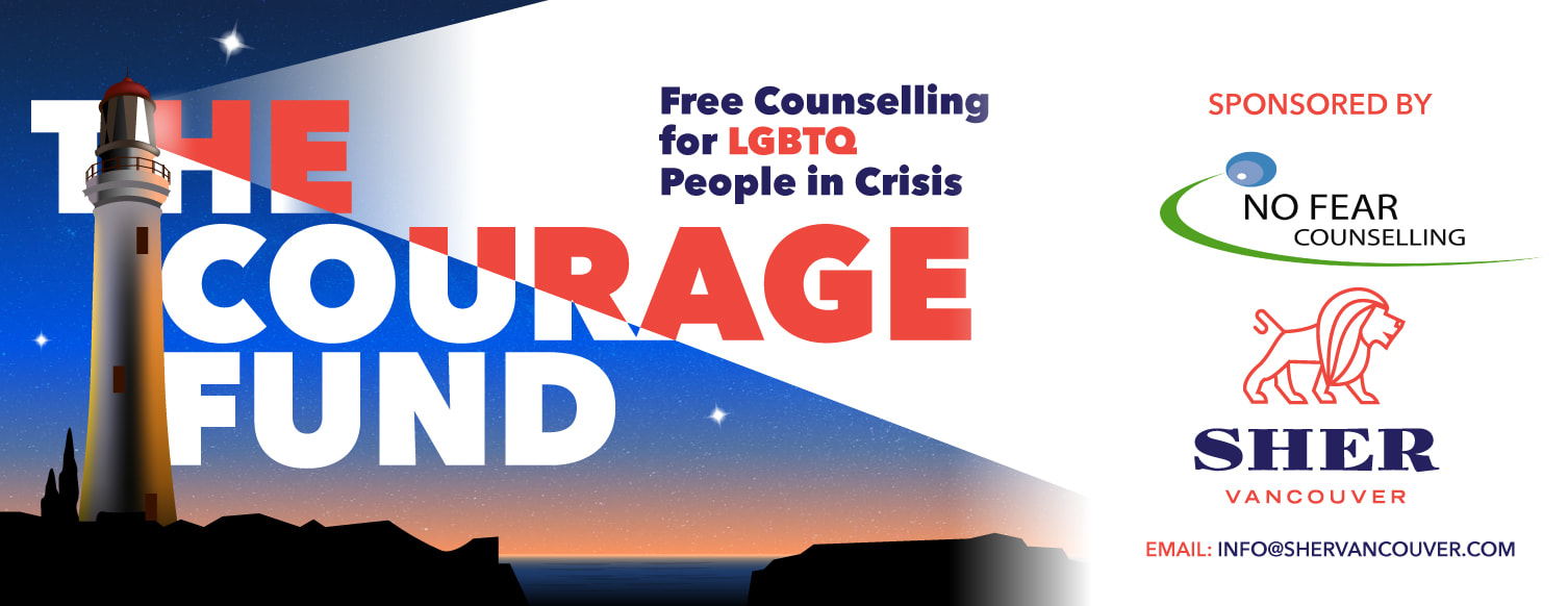 Courage Fund Sher Vancouver No Fear Counselling
