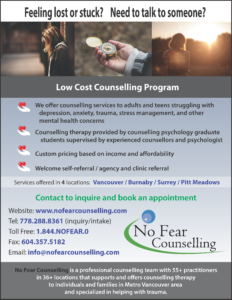 FREE CONSULTATION Low Cost Affordable Counselling Therapy